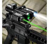Barska 4x30 IR Electro Sight w/ GLX Green Laser & LED Flashlight Combo Pack