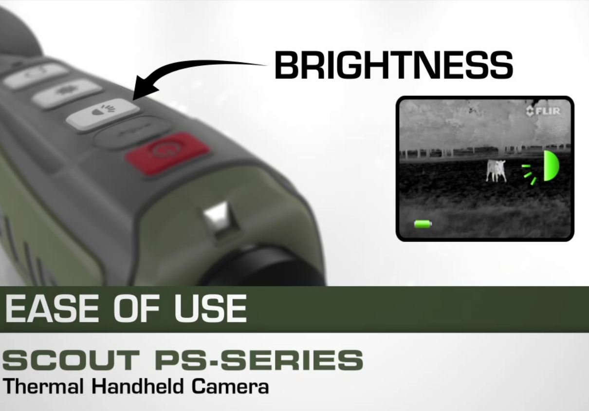 FLIR Scout PS-24 Thermal Camera / Digital Thermal Imager 431